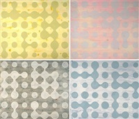 dot painting (+ 3 others; 4 works) by thomas ankum