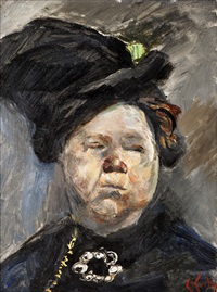 madam blom by christian krohg