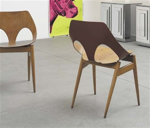 pair of jason chairs by carl jacobs