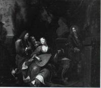 concert on the pavillion by gysbert verhoek