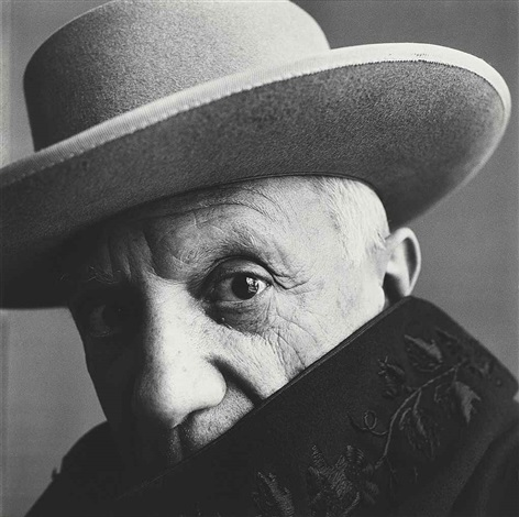 picasso a cannes by irving penn