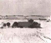 skansk gard, 1969 by gustav arne