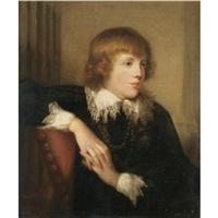 portrait of a gentleman by rev. matthew william peters