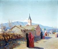 salida de misa by luis tessandori