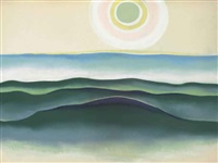 sun water maine by georgia o'keeffe
