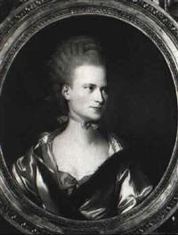 portrait de jeune femme by simon-bernard lenoir