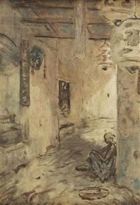 de chineesche straat by marius bauer