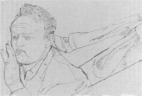 Man With Foot In His Neck By Andy Warhol On Artnet
