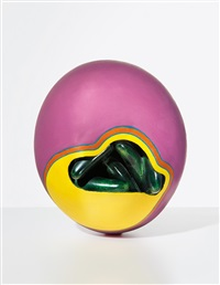 pink egg by ken price