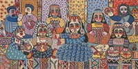 orchestre de femmes by fatna gbouri