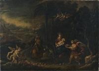 la fuite en egypte by francisco antolínez
