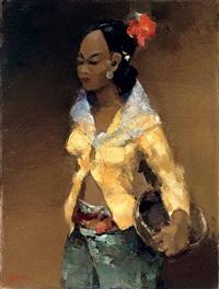 femme madoera (madurese woman) by gerard adolfs