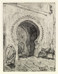 gate in tangier by henry ossawa tanner