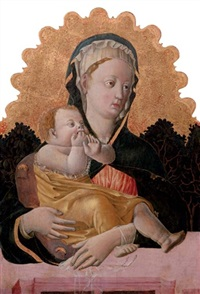 the madonna and child by francesco squarcione