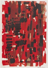 winchester red i by patrick heron