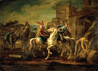 riders by georg philipp rugendas the elder