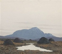 west of ireland scene-8 by paul henry