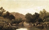 the stone bridge by robert scott duncanson