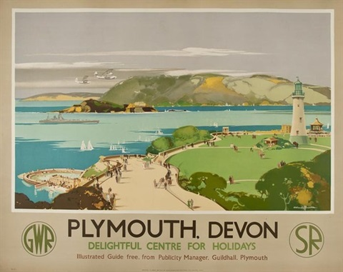 plymounth devon gwr sr by claude buckle