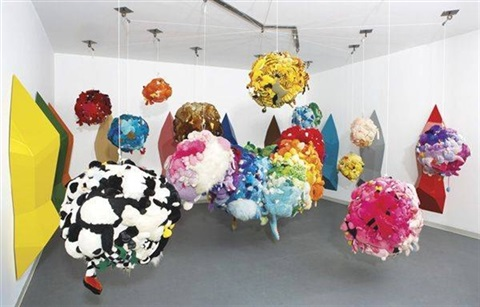 deodorized central mass with satellites by mike kelley