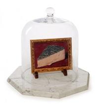 ceci est un morceau de fromage by rené magritte