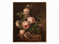 bouquet of roses by jan frans van dael