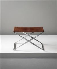 folding stool, model no. pk 91 by poul kjaerholm