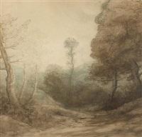sortie au bois en automne by alphonse legros