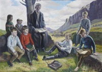 a hedge school by bernard mcdonagh
