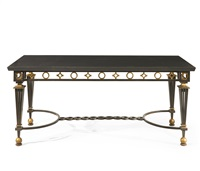 table by gilbert poillerat