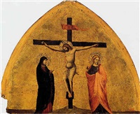 the crucifixion: a fragment by giuliano da simone