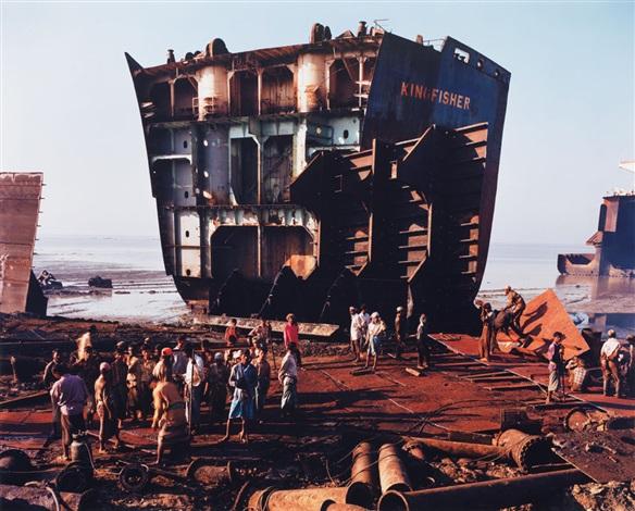 Edward Burtynsky, Shipbreaking #4