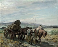 the timber wagon by nathaniel hughes john baird