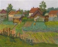 gardens by fyodor d. kolesov