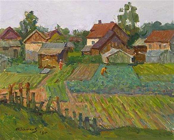 gardens by fyodor d kolesov