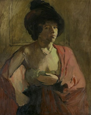 study of a lady by arthur clifton goodwin