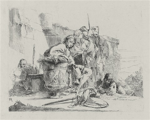 vari capricci set of 10 by giovanni battista tiepolo