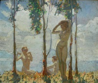bathers by frederick william leist