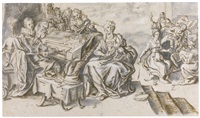 the wise and foolish virgins by hieronymus francken the younger