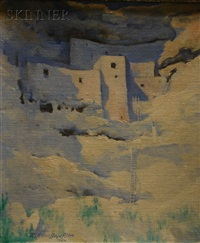 montezuma castle by marion boyd allen