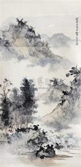 山水 by liu weiliang
