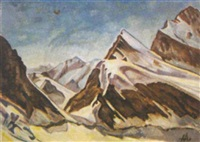 alpenlandschaft by heinrich altherr