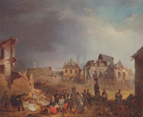 after the bombardment of antwerp in 1832 by nicaise de keyser