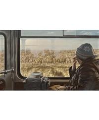 мкад (из цикла «рейсовый автобус») by semyon faibisovich