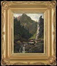 in the valley. tatra mountains by kazimierz alchimowicz