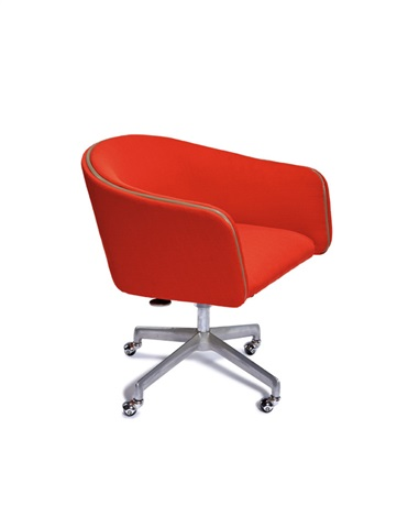 Enjoyable Desk Chair Model 66318 Tsr By Alexander Girard On Artnet Theyellowbook Wood Chair Design Ideas Theyellowbookinfo