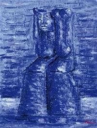 figura seduta by xante battaglia
