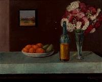 flores y naranjas by fernando rivero