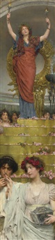 the benediction by sir lawrence alma-tadema