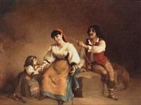 sydlänsk familj by charles corbineau